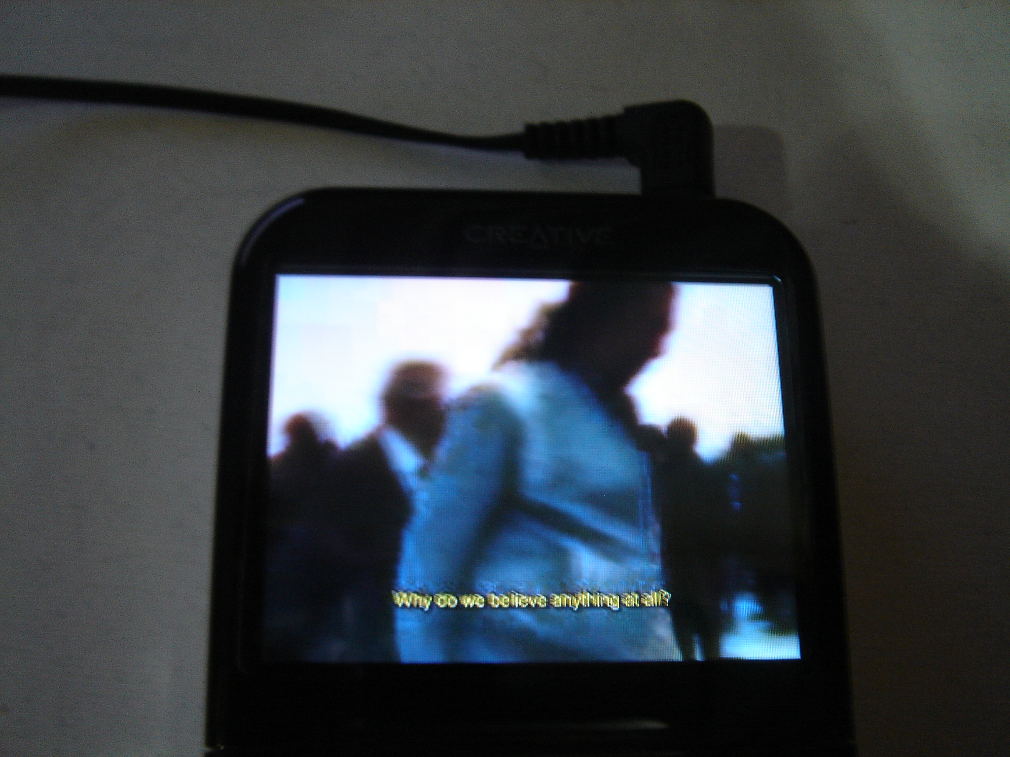 How to embed subtitles to movies for your mp3 video player for free