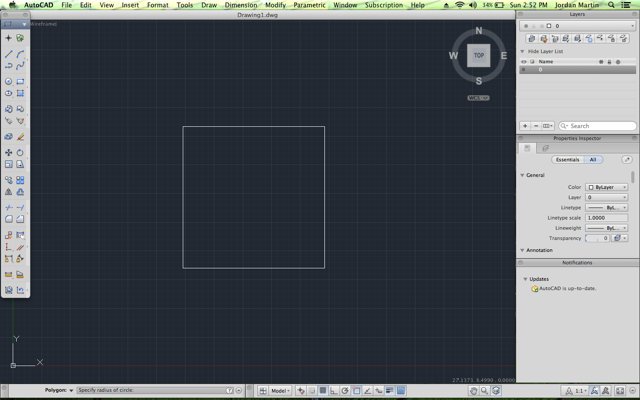 How to Use the Polygon Command in AutoCAD, Student Edition
