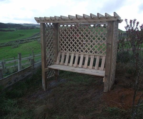 Pergola Arbor Seat