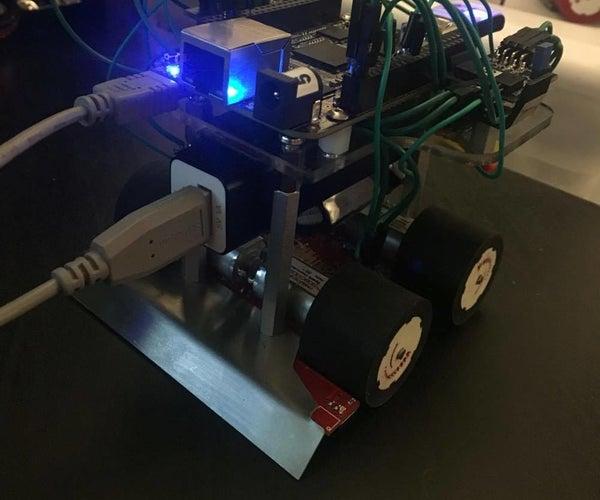 BeagleBone Black MiniSumo Bot: Chassis