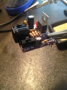 Installing the LM317 Voltage Regulator