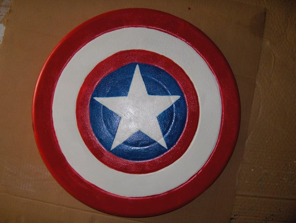 Making a Captain America Shield Out of a BBQ Grill