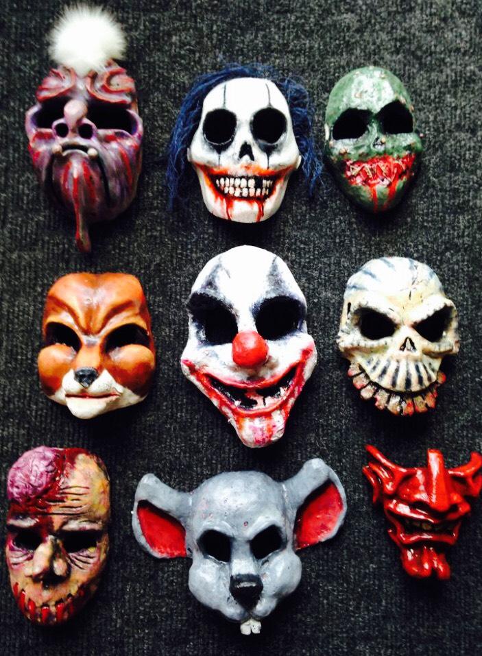 Masks( Fibre glass)