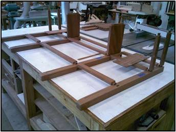 Layout the Joinery for the Legs