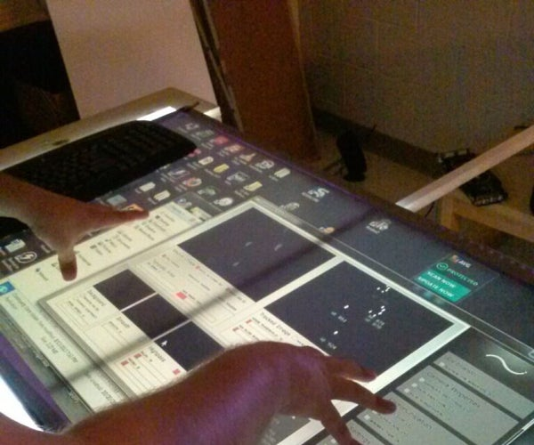 Creating Your First Multi-touch Table