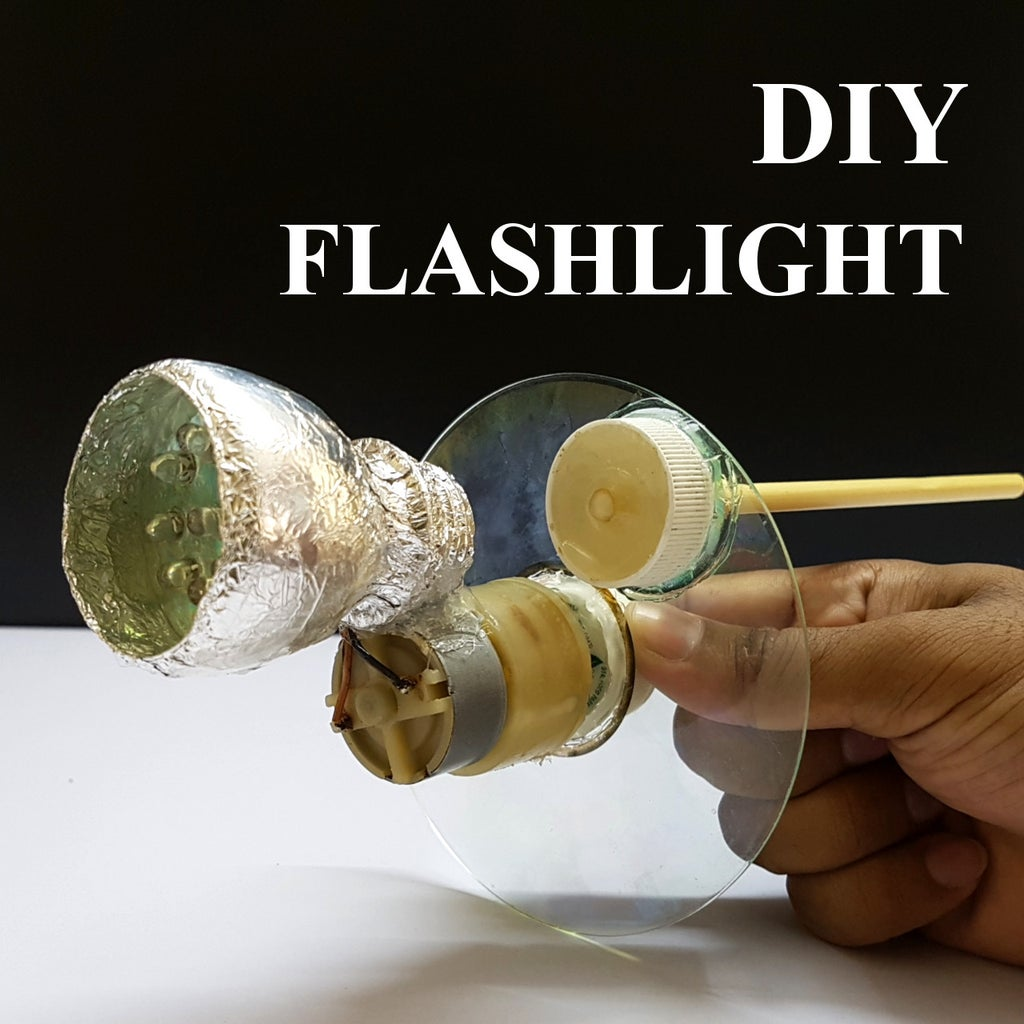 How to Make Hand Operated Flashlight