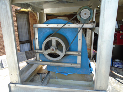 Removing the AC Motors and Pumps