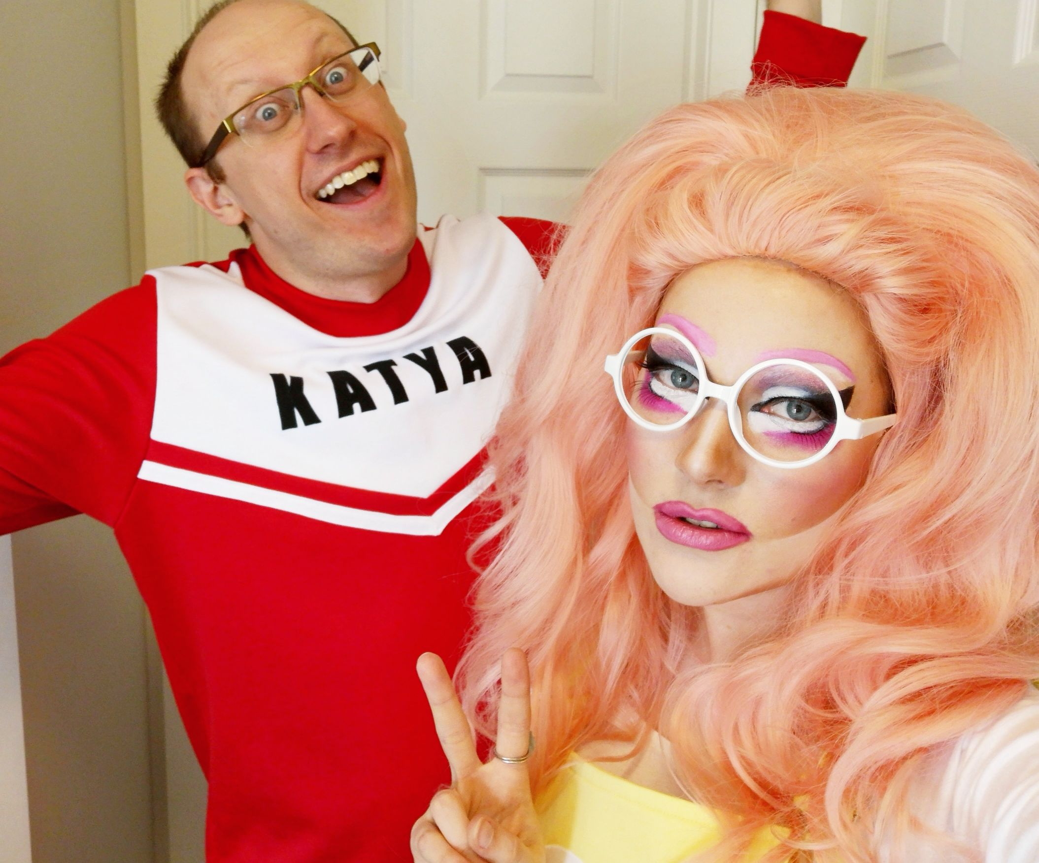 Trixie Mattel And Katya Cosplays From Rupaul S Drag Race And Unhhhh 6 Steps Instructables