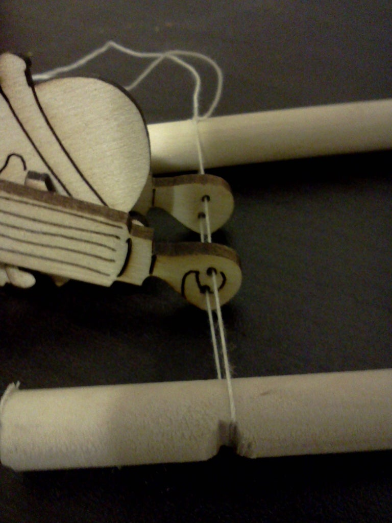 4. Stringing the Puppet: