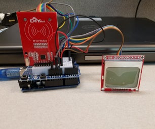 Yet Another Instructable on Using the DIYMall RFID-RC522 and Nokia LCD5110 With an Arduino