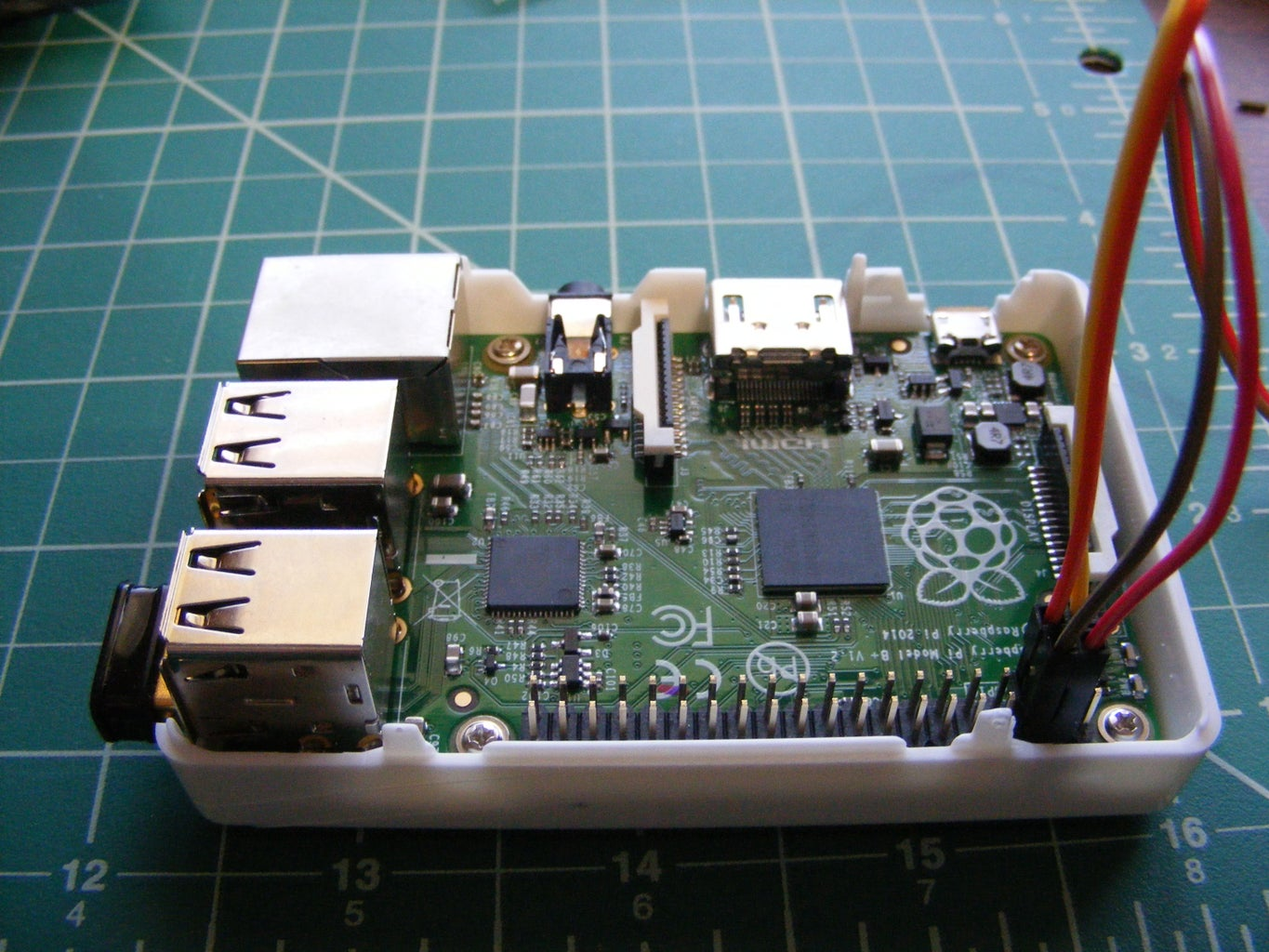 Connect LCD Display to Raspberry Pi, Setup and Test.