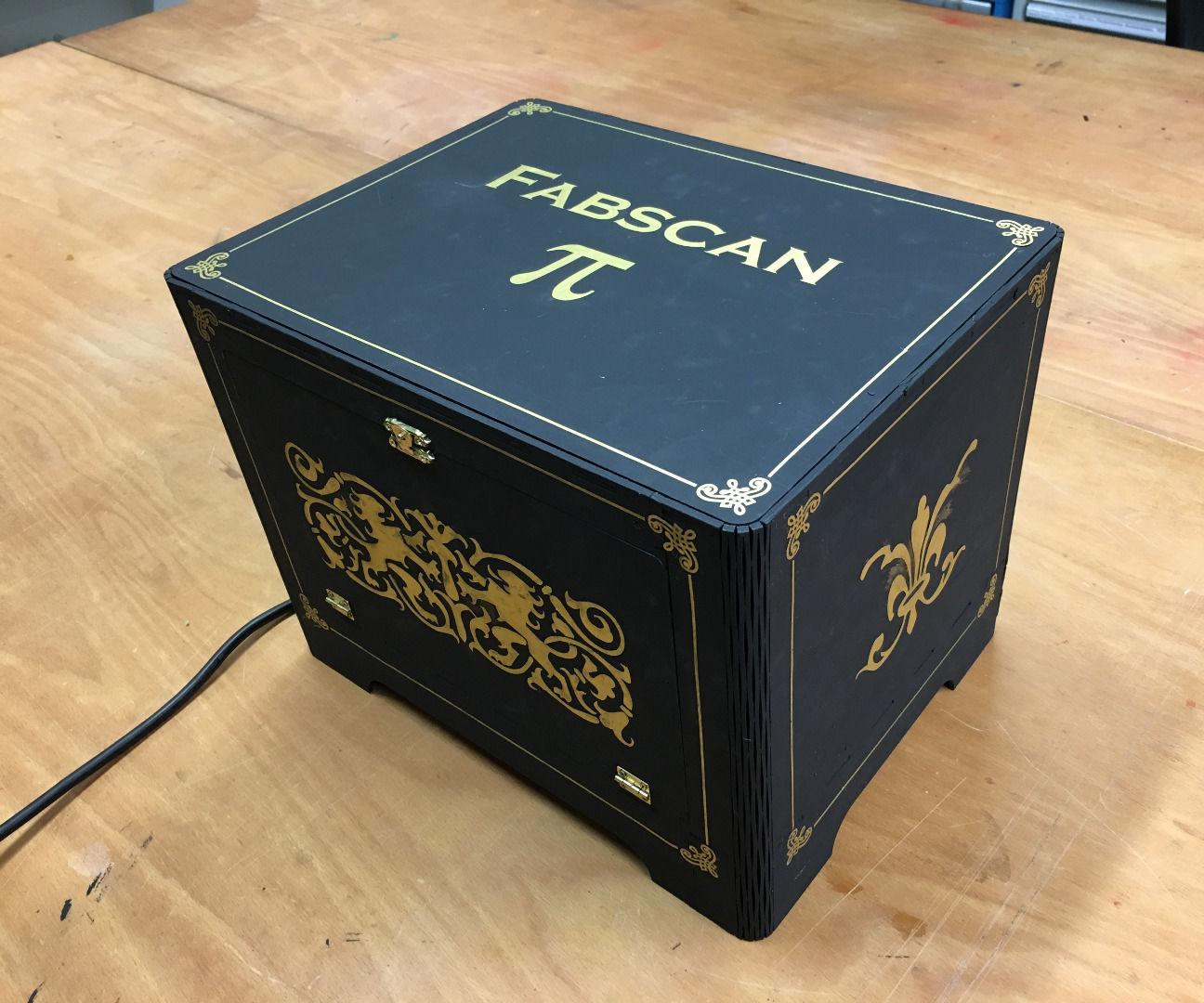 3D Scanner: FabScan Pi