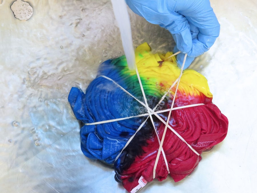 Unwrapping Your Masterpiece - Wear Rubber/latex Gloves!