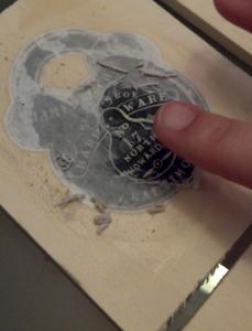 Revealing the Wood Print