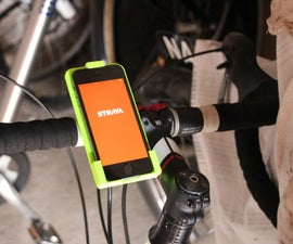 3D Printed Phone Mount for Cycling