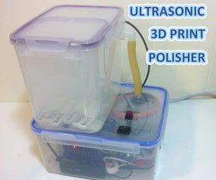 Automated Ultrasonic Misting 3D Print Polisher PRO