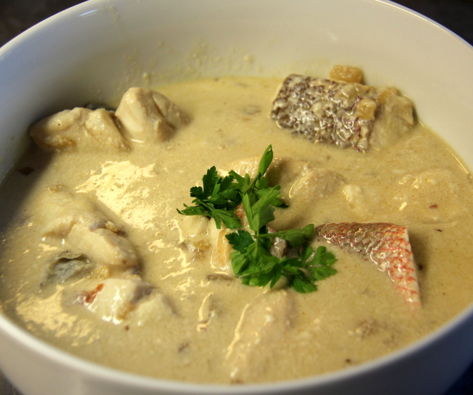 Fish in Coconut Milk