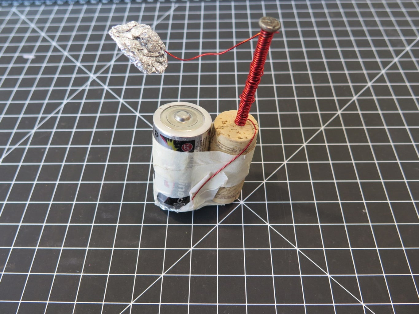 Foil, Wire, and Foil Again