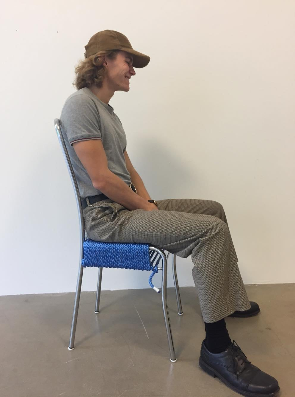 The Blue Rope Chair