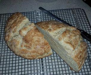 爱尔兰苏打面包(从简单的食谱调整)