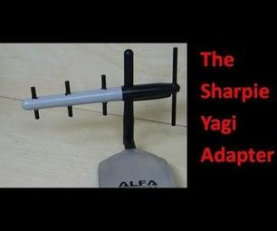 The Sharpie Pen Yagi Adapter