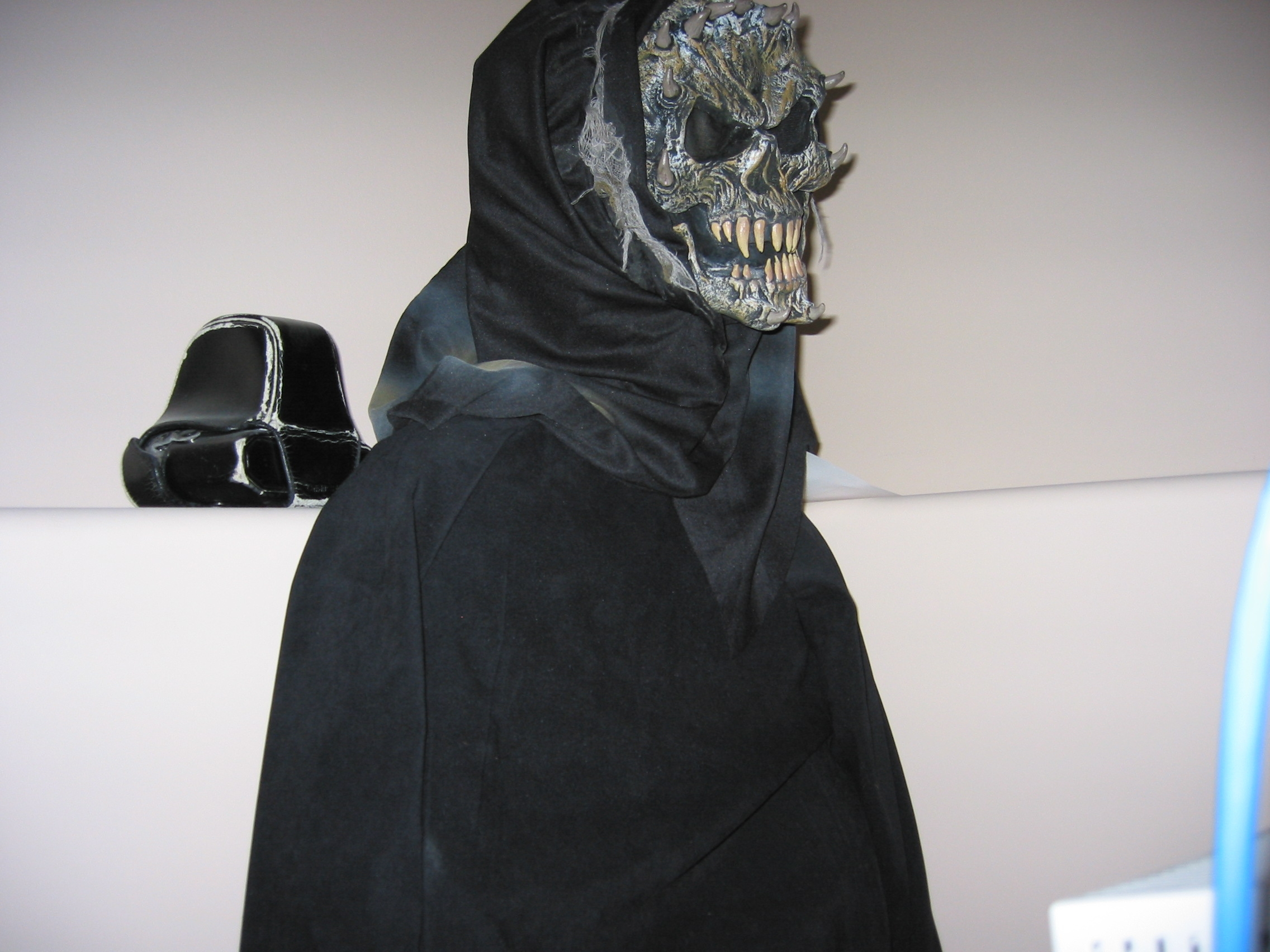 Scary Statue!