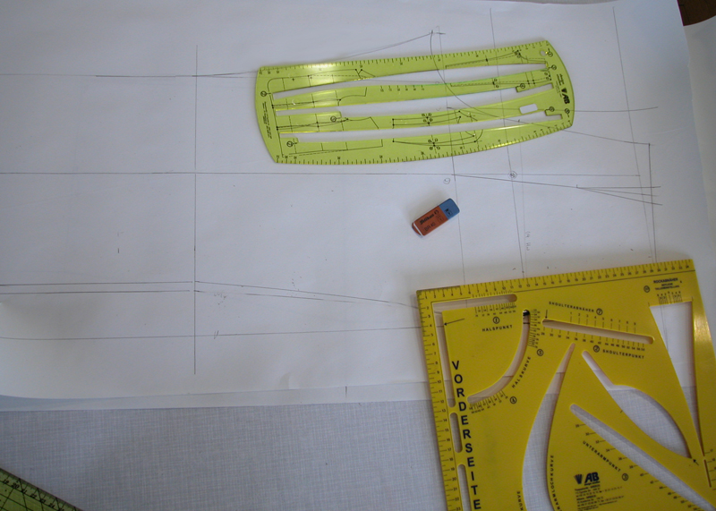 Look how easy it is to make pattern construction!