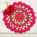 Ruffled Mini Flower Doily