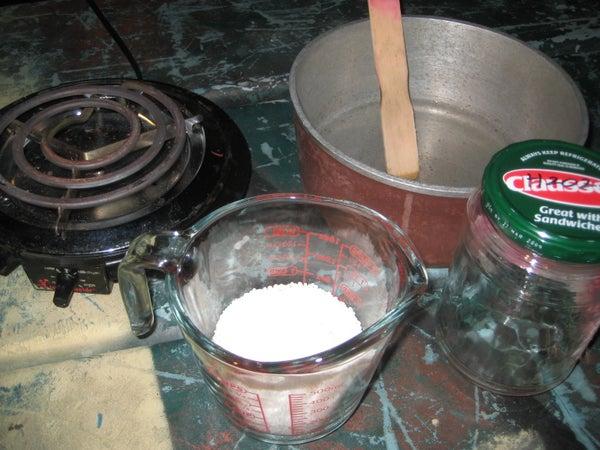 Purifying Potassium Nitrate (KNO3)