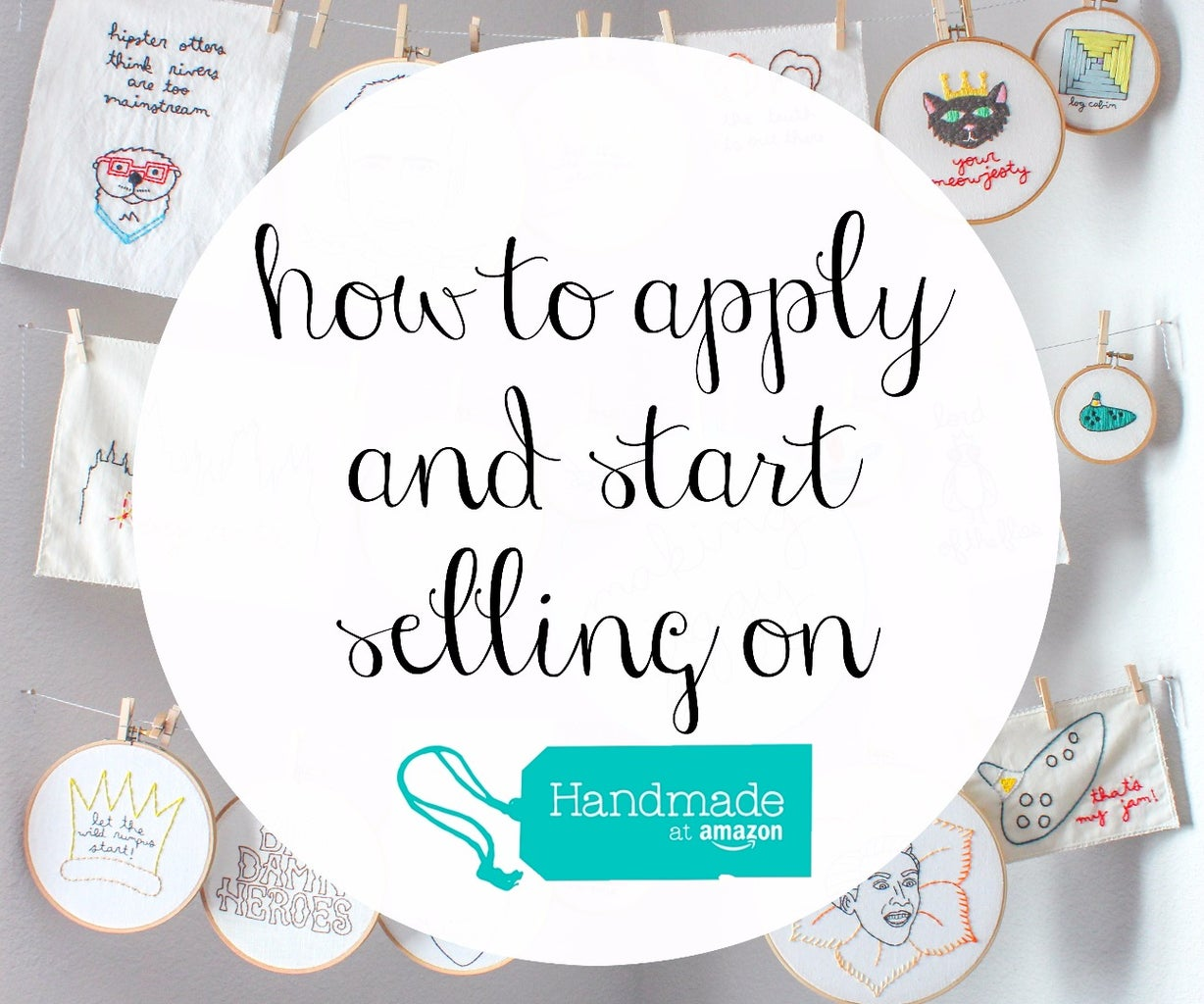 How to Apply and Sell With Handmade at Amazon
