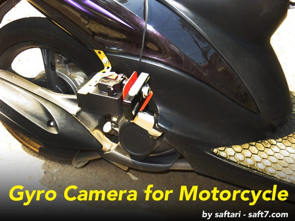 Gyro Camera for Motorcycle
