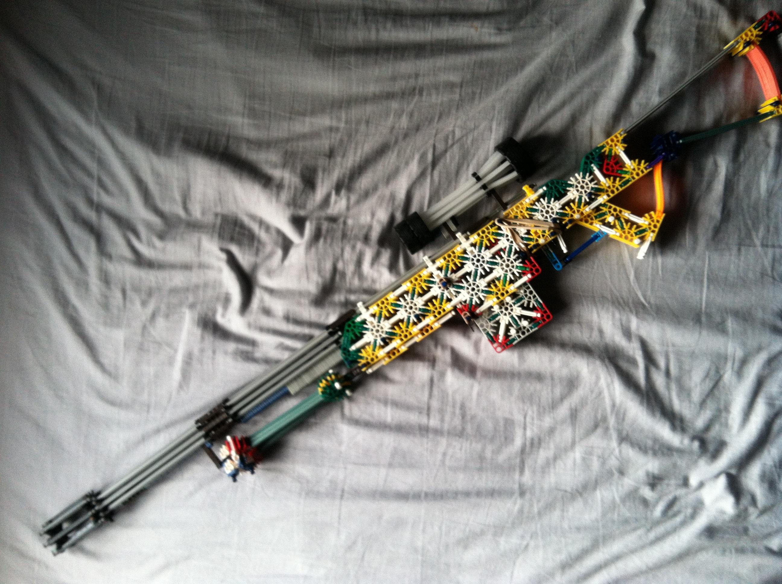 Knex Fallout 3/New Vegas Sniper Rifle
