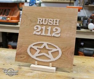 Wooden Rush Album Cover Art