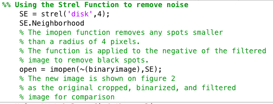 Finding Abnormalities for Each Binary Image