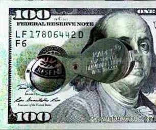 Detecting Counterfeit Currency, US Dollars.