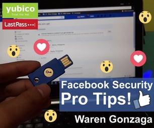 Facebook Security Pro Tips