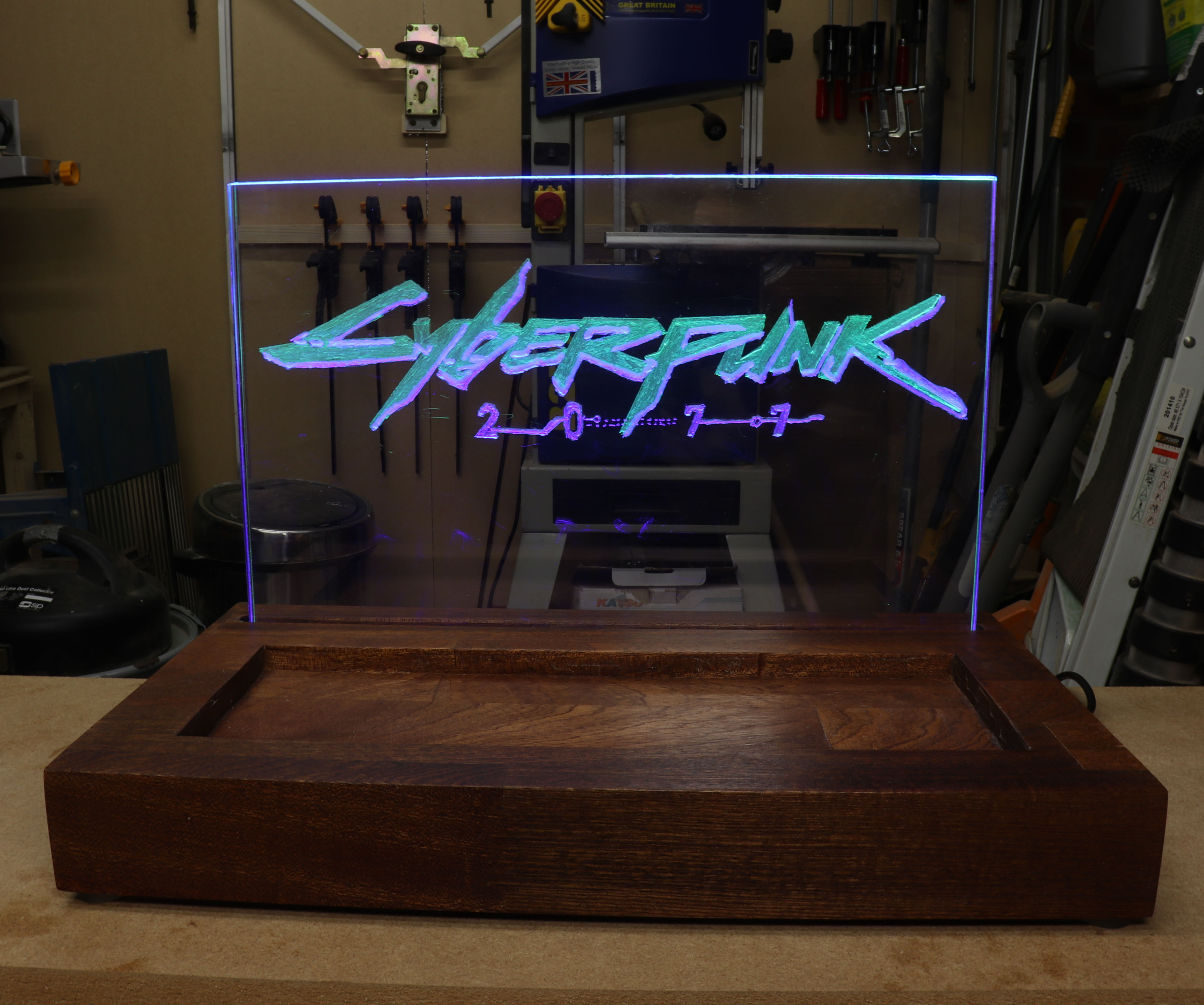 Cyberpunk 2077 Themed LED Light