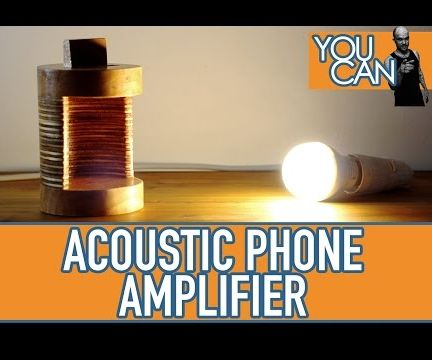 Acoustic Phone Amplifier
