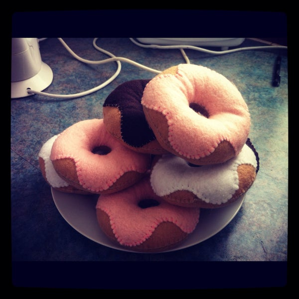 Felt Donut Plush How-