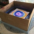 DIY Giant Spin Art Made From an Old Box Fan!