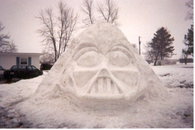 STAR WARS IN THE SNOW