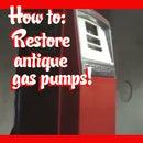 Restore antique gas pumps