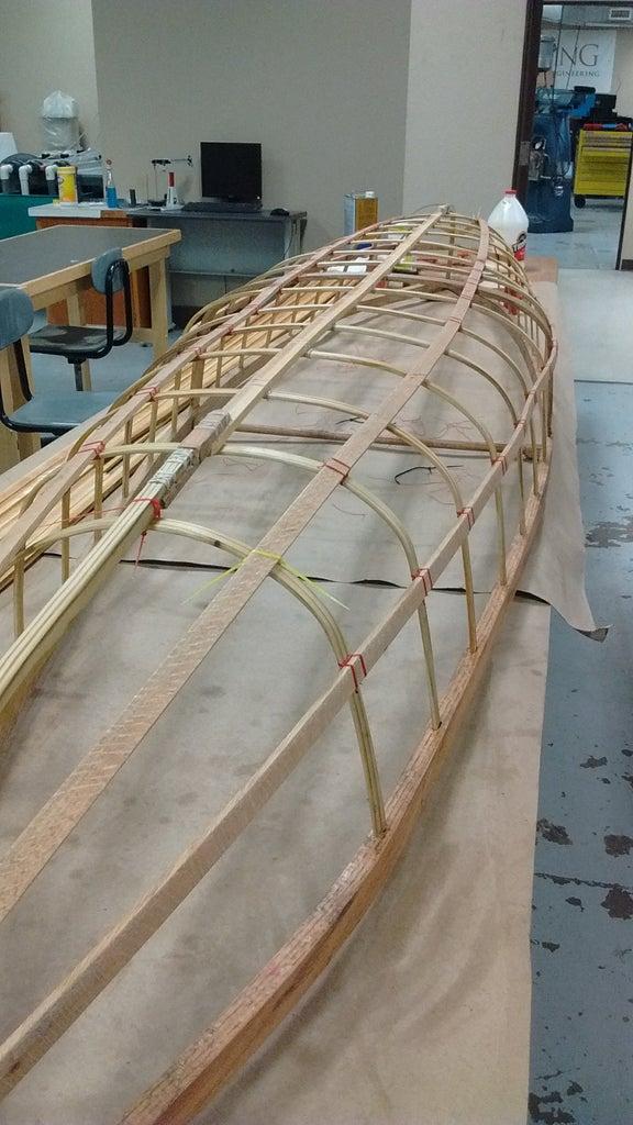 Adding the Horizontal Ribs