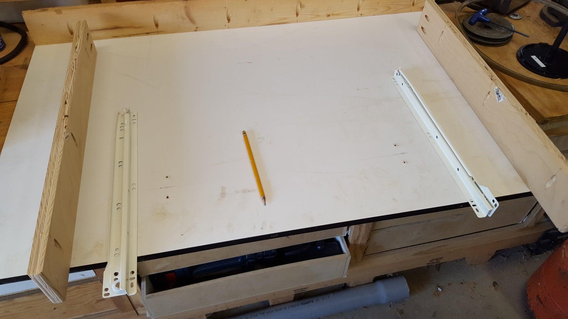 Install Outer Drawer Slides