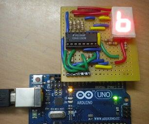 Displaying Numbers Using a Homemade Arduino Mini Shield!