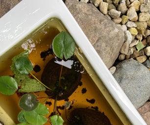 Miniature Bathtub Water Feature