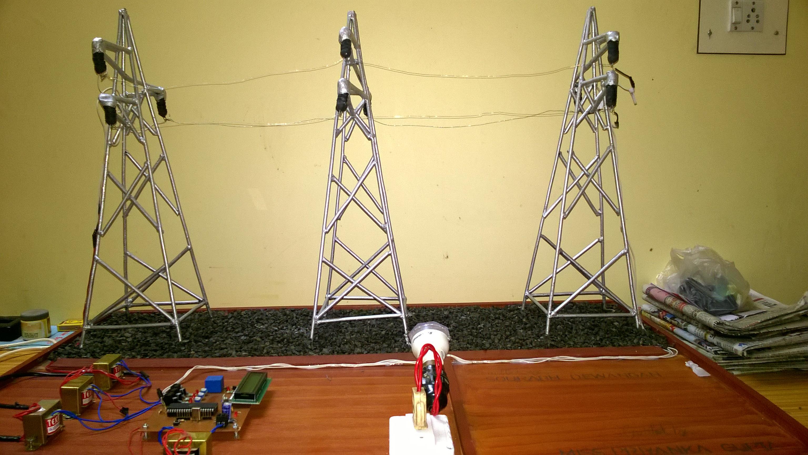 Transmission Line Fault Detector Instructables