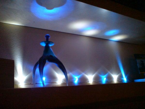 Ambient LED Shelf Lighting