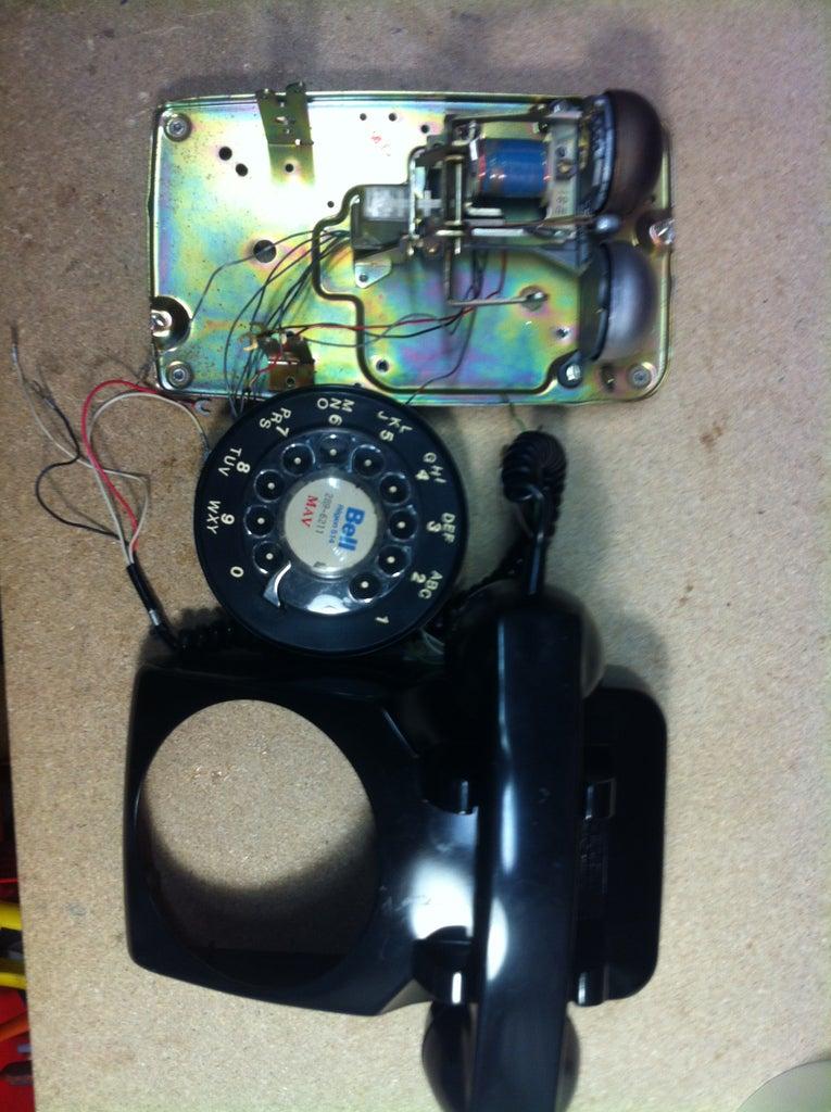 Prepare the Rotary Phone