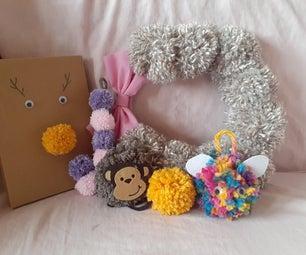 Pom Pom花圈,装饰品和礼品包